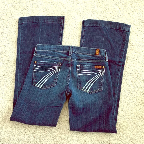 7 For All Mankind Denim - SOLD 7FAM Dojo Jeans